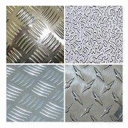 1050 aluminum tread plate with size 4 X 8 inch